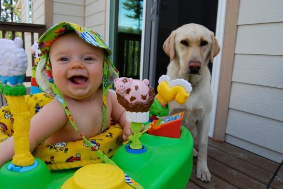 The Godson and the Labrador